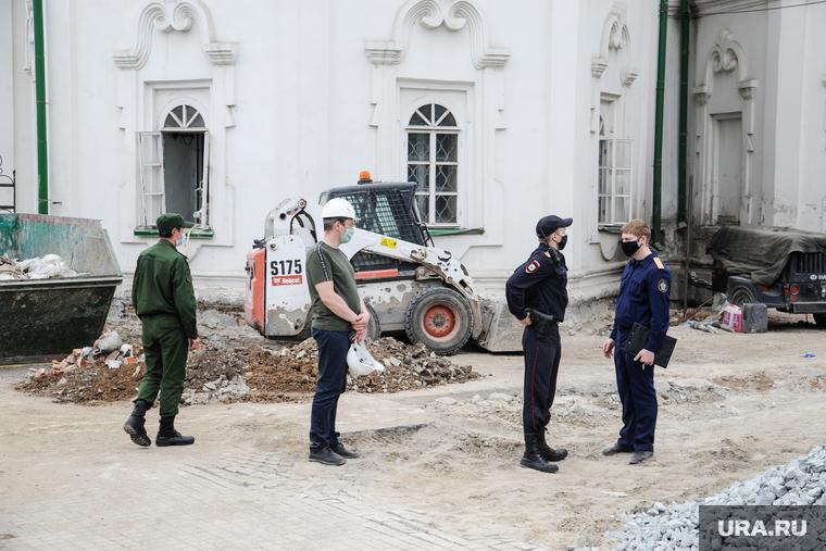 Спасская церковь, на территории которой нашли останки предположительно Андрея Текутьева. Тюмень