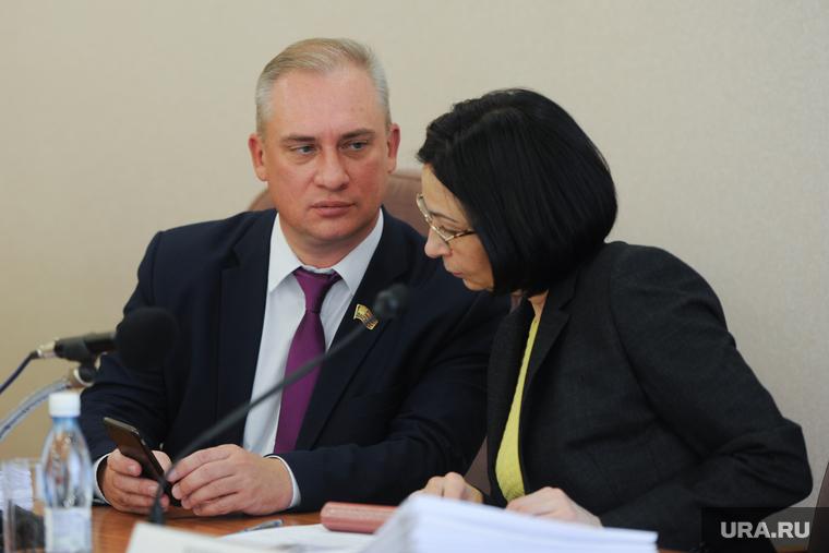 Заседание челябинской городской думы. Челябинск