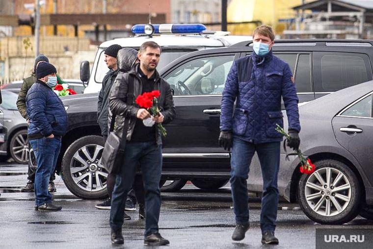 Прощание с Данилом Халимовым (необр). Екатеринбург