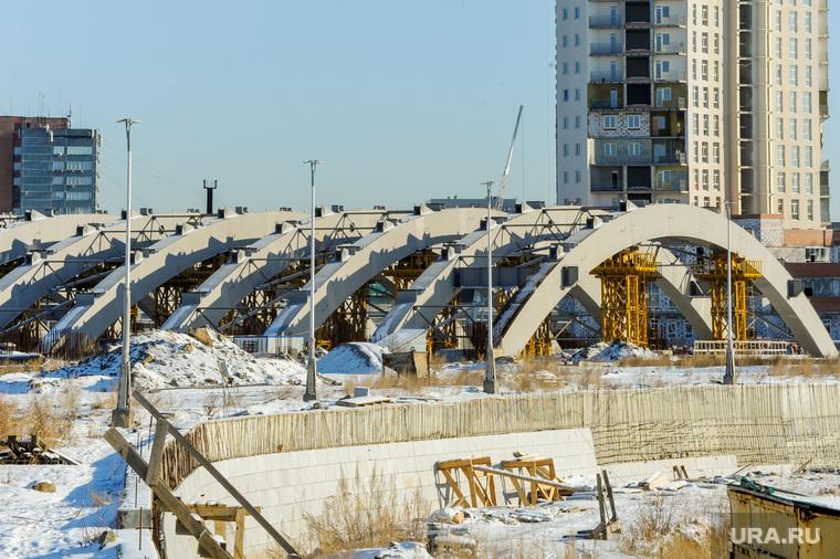 Конгресс-холл Крылья, замороженная стройка к ШОС. Челябинск