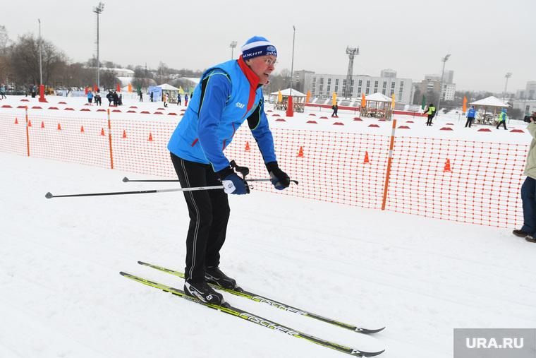 Лыжня России на стадионе Калининец. НЕОБРАБОТАННЫЕ