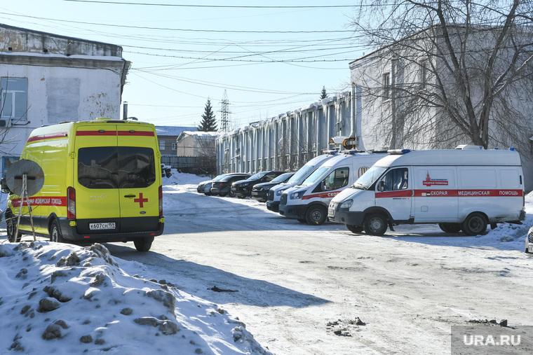 Кислородная подстанция скорой помощи. Екатеринбург