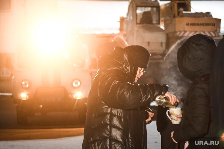 Обстановка вокруг Среднеуральского монастыря после штурма. Екатеринбург