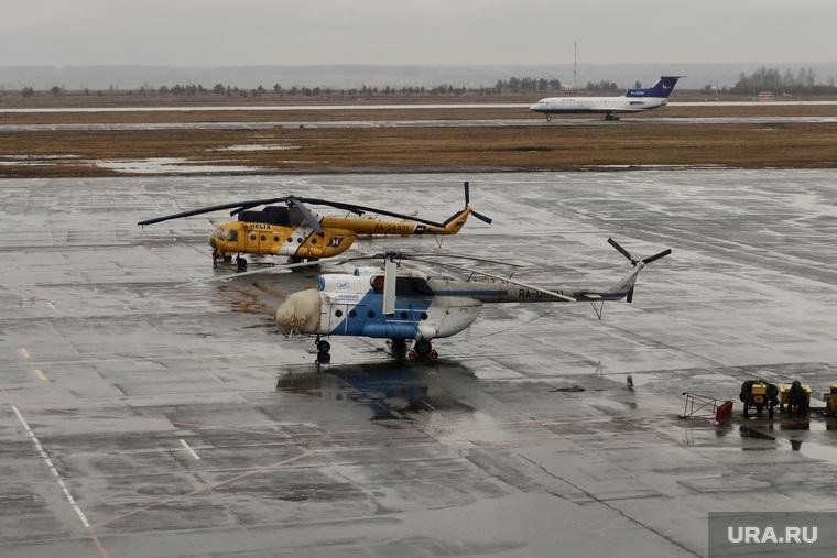 Текслер в аэропорту. Челябинск