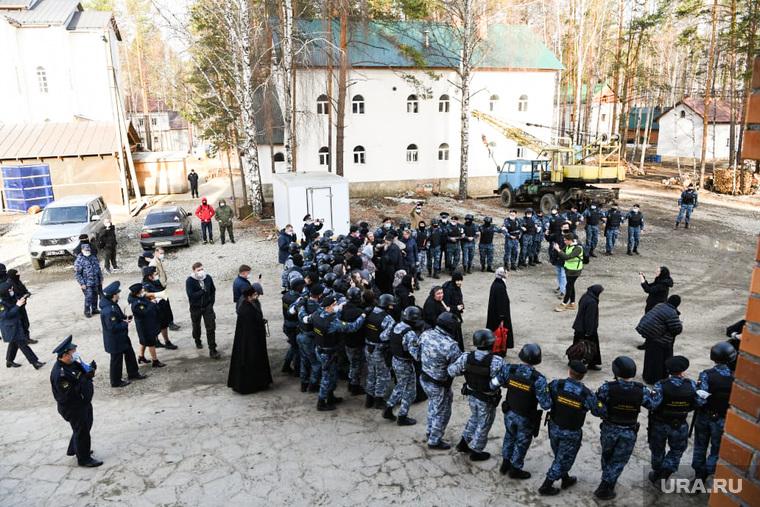 Спецоперация правоохранительных органов в Среднеуральском женском монастыре. Свердловская область