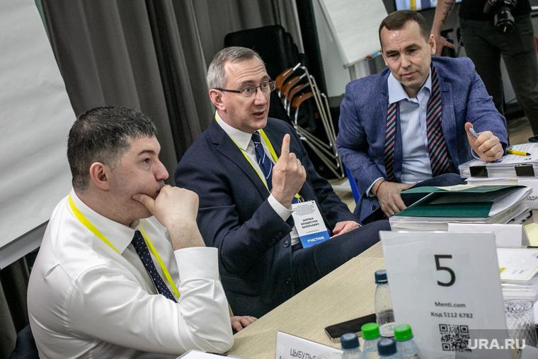 Губернаторы на семинаре-совещании по подготовке заседания президиума Госсовета РФ. Москва