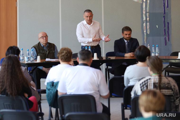 Пресс-конференция с секретарем регионального отделения ЕР Александра Ильтякова. Курган