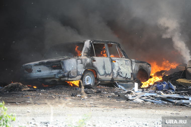 Пожар. Селябмнск
