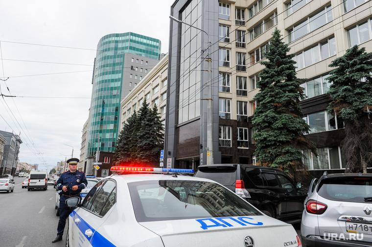 Минирование здания правительства. Челябинск