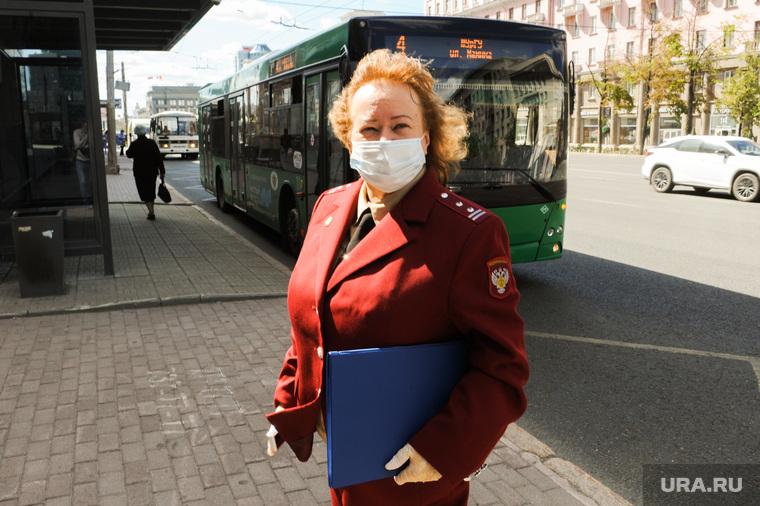 Рейд по соблюдения масочного режима в транспорте и на объектах торговли. Челябинск
