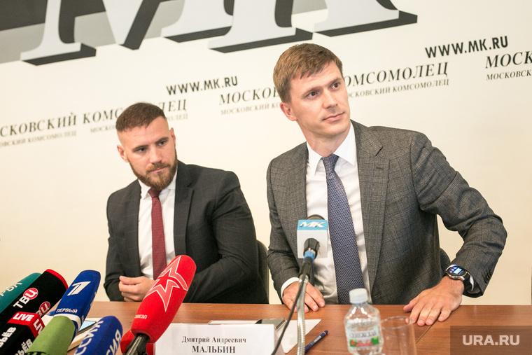 Адвокаты Ирины Грудининой на пресс-конференции в МК. Москва