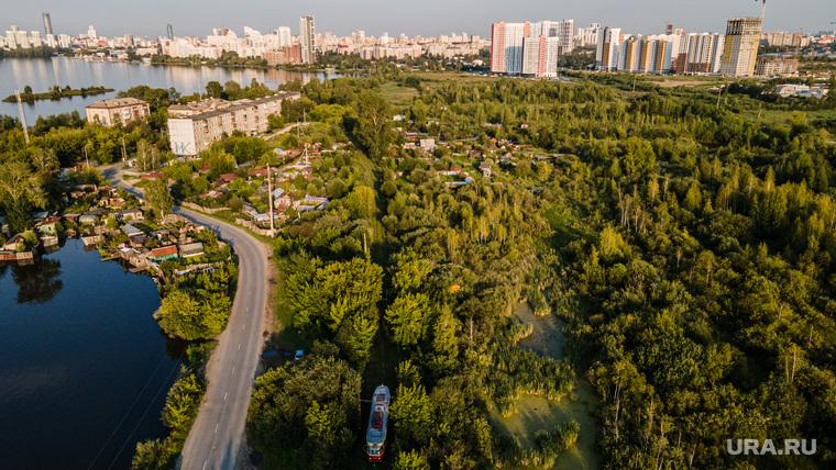 Полуостров Малый Конный на ВИЗ-Правобережном. Екатеринбург
