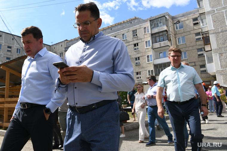 Рабочая поездка Евгения Куйвашева в Северный управленческий округ. Краснотурьинск
