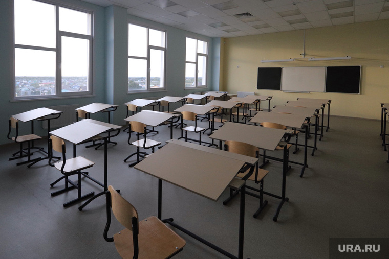 Школа Кетово. Курган