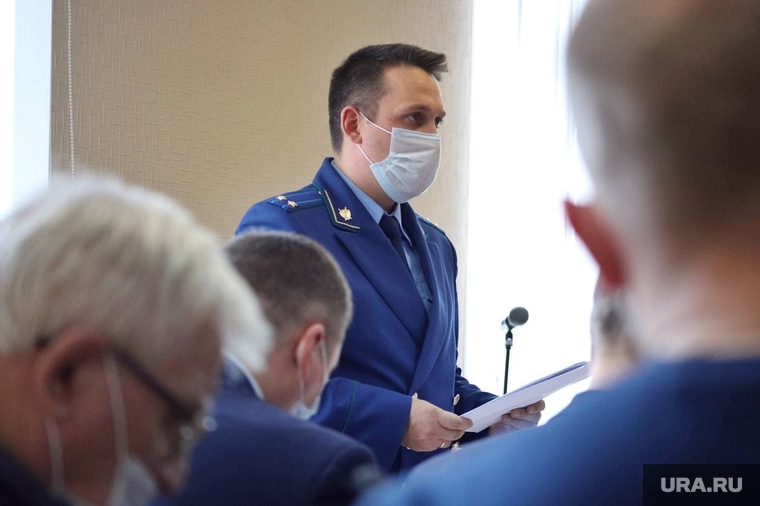 Пугин Сергей в суде. Курган