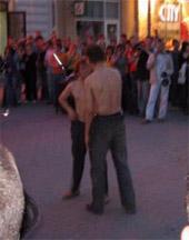 Скандальный секс на улице вайнера екатеринбург