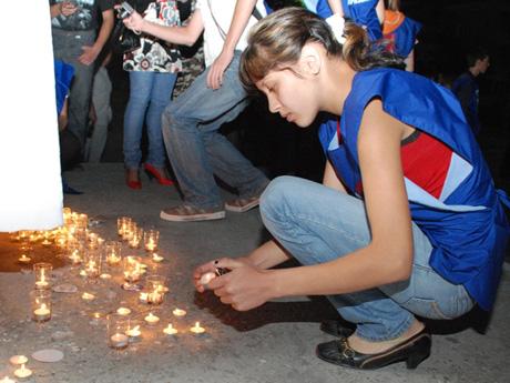 В Шадринске прошла супер-акция. В ней участвовали сотни людей