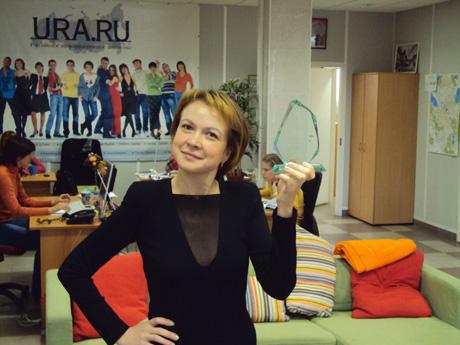Шеф-редактор URA.Ru – Шеф года! Коллеги признали Аксану лучшей