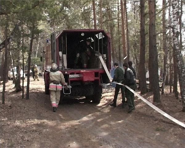 Зауральские спасатели провели масштабное мероприятие