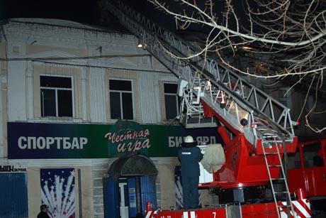 Крупный пожар в историческом центре Кургана. Выгорело 800 квадратных метров