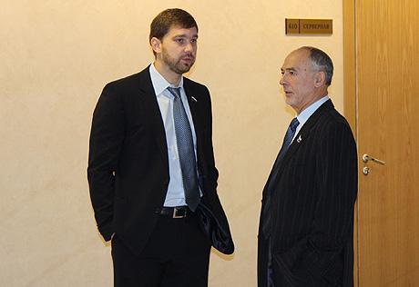 Для Анатолия Гайды (справа) с Мишариным связаны надежды на возвращение былого авторитета