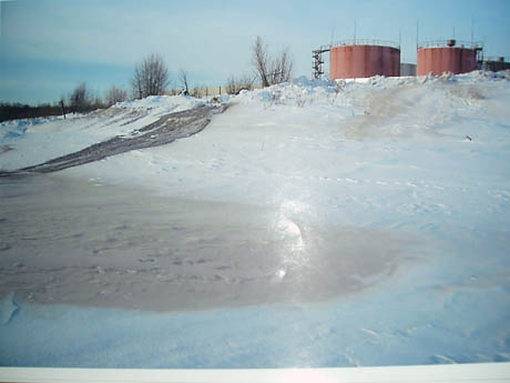 Экологическая катастрофа в вотчине ТНК-ВР. На реке около питьевого водозабора обнаружено такое…