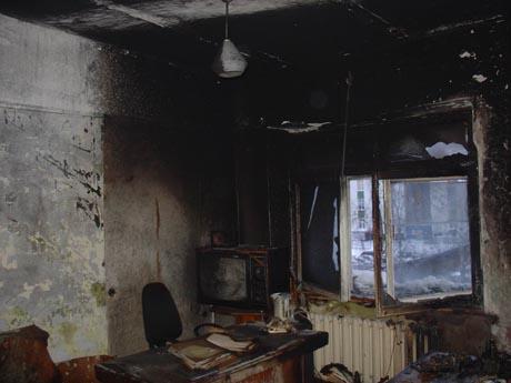 Новый пожар в Перми. Горел крупный завод