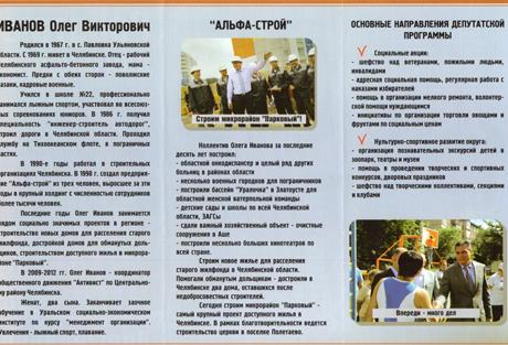 Первый скандал на довыборах в  гордуму Челябинска. Единороссы обиделись, что их кандидат дистанцировался от партии