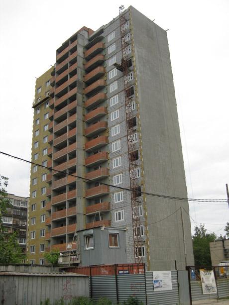Екатеринбург спорные строительные объекты жилые дома