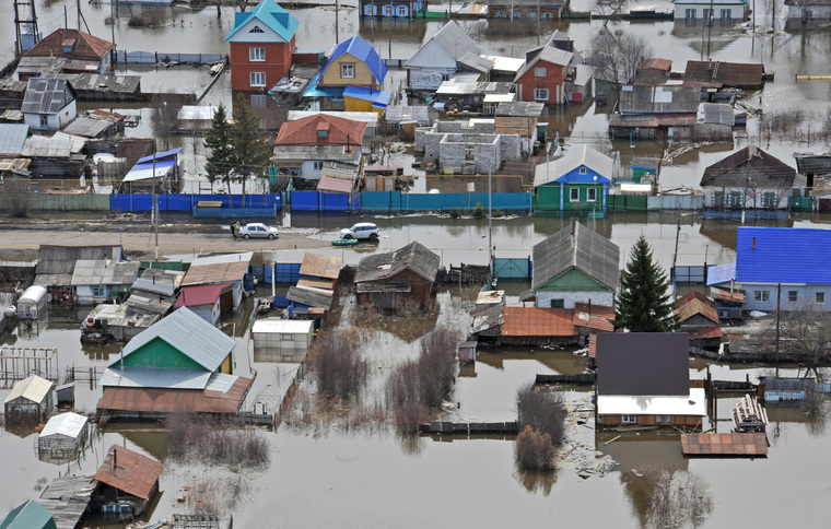 Наводнение в Ишиме, 15.04.2016, ишим, паводок2016, наводнение