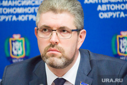 Брифинг о отмене выборов губернатора. Ханты-Мансийск., дегтярев сергей