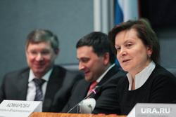 Совещание по стратегии 2020 в ХМАО, три губернатора в Ханты-Мансийске, комарова наталья, кобылкин дмитрий, якушев владимир