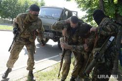 Перестрелка в Аэропорту Донецка. Украина