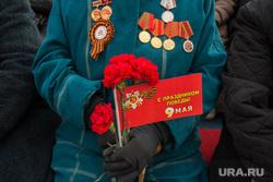 9 мая 2016. Сургут, ветеран, 9 мая, день победы