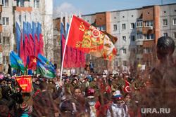 Празднование Дня Победы. Сургут, сталин, 9 мая, день победы, спасибо деду за победу