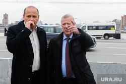 Глава города Евгений Тефтелев проверяет ход весенней уборки города. Челябинск, ереклинцев виктор, тефтелев евгений