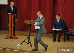 Встреча с партийным активом Северного управленческого округа. Свердловская область, Первоуральск , шептий виктор, куйвашев евгений