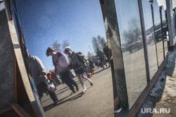 Родительский день. Северное и Широкореченское кладбища.Екатеринбург, могильные плиты