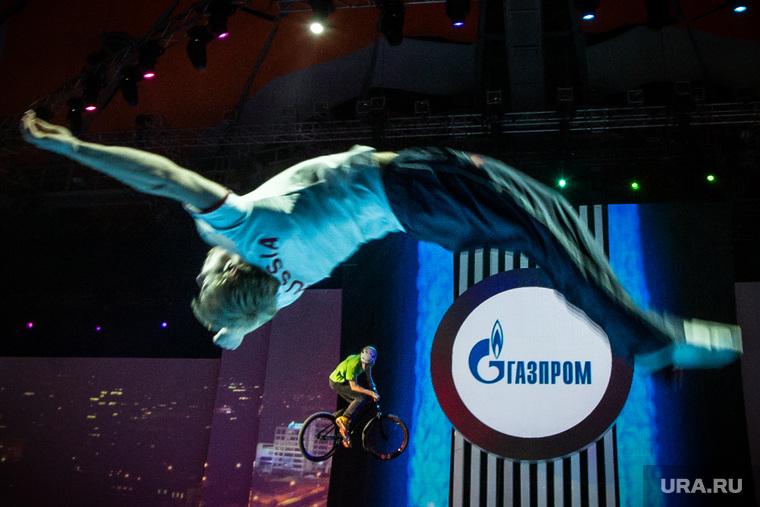 Церемония открытия зимней спартакиады Газпром. Екатеринбург, газпром, экстрим