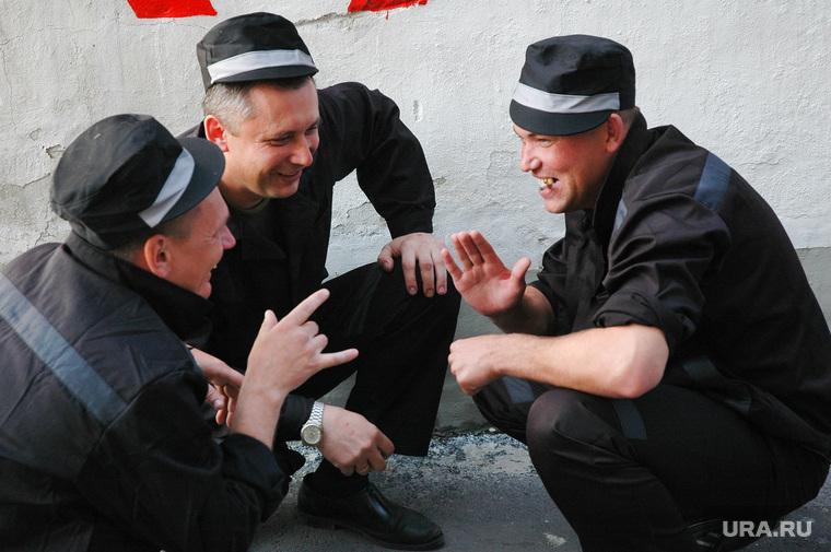 Бунт в колонии ГУФСИН (Архив 2007). Челябинск, заключенные, драка, тюрьма, жулик, зэк, зэки, побоище