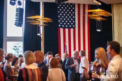 День независимости США в Хаятте. Екатеринбург, прием, американский флаг, сша