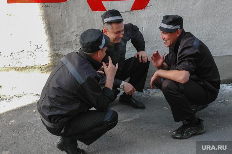 Бунт в колонии ГУФСИН (Архив 2007). Челябинск, драка, тюрьма, заключенный, жулики, зэк, зэки, побоище