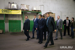 Рабочий визит ВРИО губернатора Свердловской области в Белоярский городской округ. Свердловская область, Белореченск