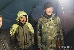 Палаточный лагерь спасателей Авиалесохраны. Салехард, спасатели