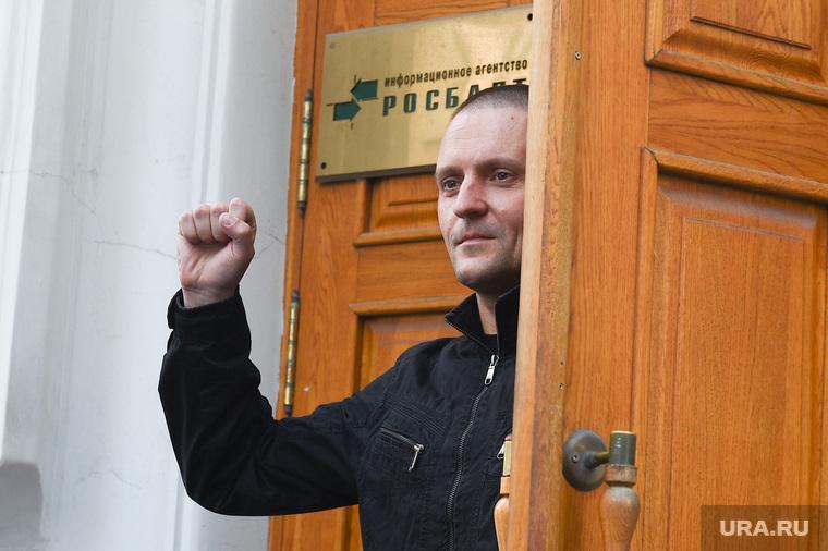 Пресс-конферения Сергея Удальцова в агентстве Росбалт. Москва, удальцов сергей