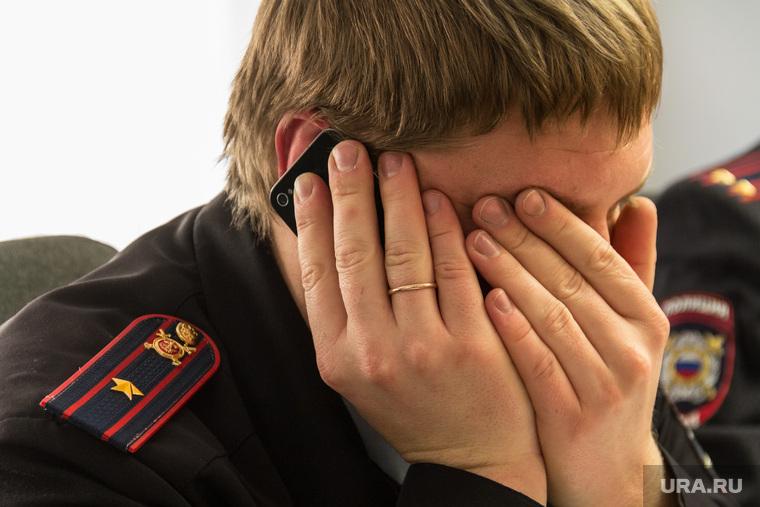 Горсобрание. Январь. Магнитогорск, полиция, разговор по телефону