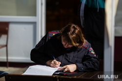 Резня на проспекте Ленина. Сургут, полиция