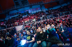 Турнир по смешанным единоборствам Fight Nights Global. Екатеринбург, зрительный зал, дивс, дворец игровых видов спорта, болельщики