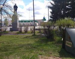 Обманутый дольщик Камышлов поставил палатку объявил голодовку