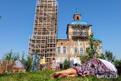 Визит Патриарха Кирилла  в село Батурино. Курганская область, храм, верующие, паломники, православие